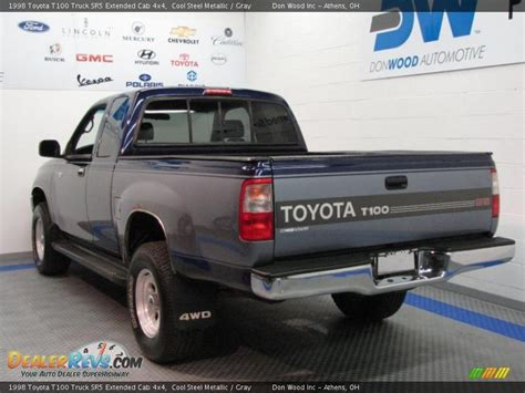 Toyota T100 4x4 1998 Toyota T100 Truck Sr5 Extended Cab 4x4 Cool Steel