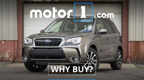 buy a subaru forester why buy 2017 subaru forester review