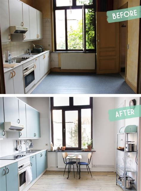 relooking cuisine avant apr鑚 kitchen makeover before after une cuisine avant