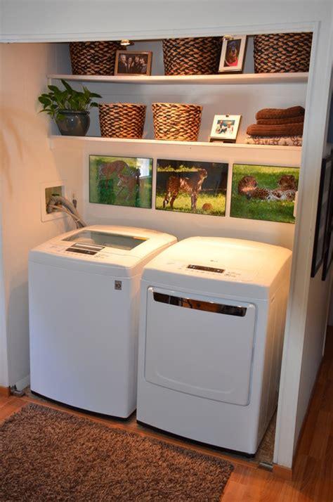 Garage Design Ideas laundry room makeover