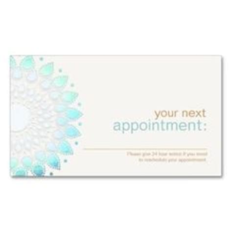 salon appointment cards template 1000 images about salon and spa appointment cards on