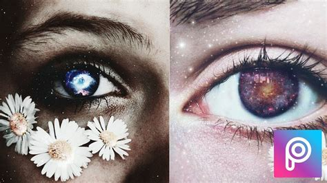 imagenes wallpapers de ojos ojos con galaxia tumblr en picsart youtube