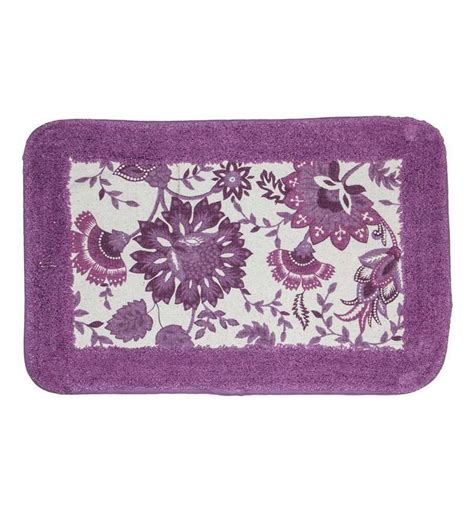 purple bath mats rugs house this purple bath rug by house this bath mats furnishings pepperfry product