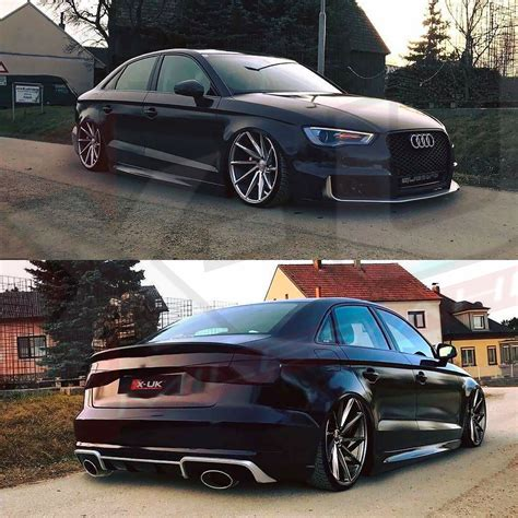 Audi Rs3 Diffuser by Audi A3 8v 2013 2016 To Rs3 Sportback Rear Diffuser