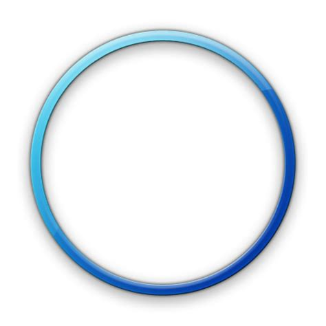 design icon circle 13 email icon circle transparent background images blue