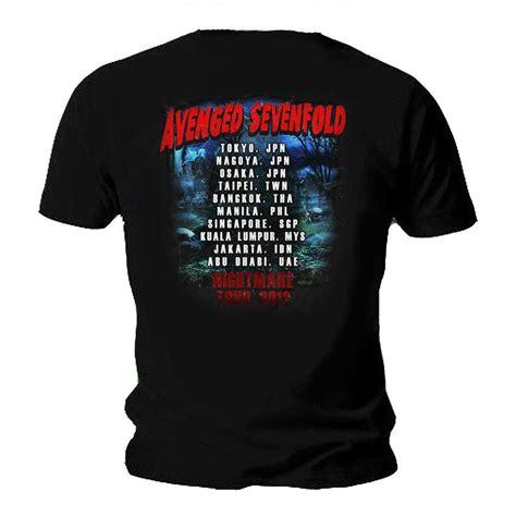 A7x Avenged T Shirt official t shirt a7x avenged sevenfold buried alive tour
