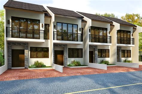 townhouse designs own my property guide in the philippines common types of