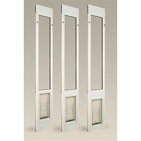 Patio Pacific Pet Door Patio Pacific Thermo Panel 3e For Sliding Glass Doors With Endura Flap Pet Door