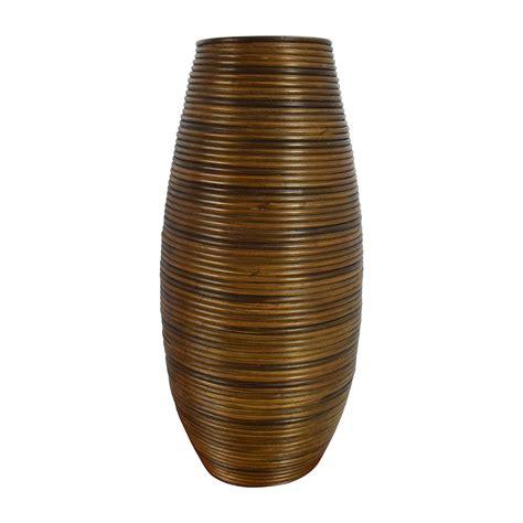 crate and barrel floor ls shop crate barrel galang coiled rattan floor vase