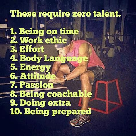 Https Www Linkedin Pulse 10 Things Require Zero Talent Callahan Mba by 10 Things That Require Zero Talent Motivational Quotes