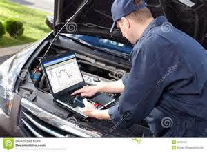 Auto Shop Plans car mechanic working in auto repair service royalty free