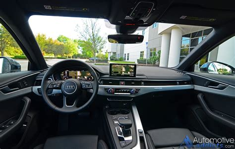 audi dashboard 2017 2017 audi a4 2 0t quattro review test drive the brand
