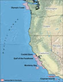 map west coast