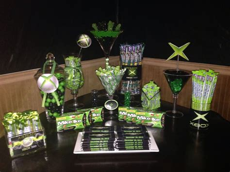 themed gamer party xbox theme video game party pinterest