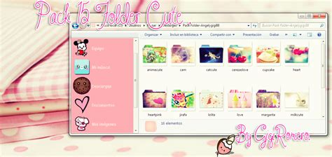 pink pack live for win xp themes for pc pack 15 folders cute by gigiromero on deviantart