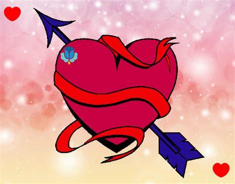 imagenes de corazon que diga love you dibujo de te amo pintado por s1r14 en dibujos net el d 237 a