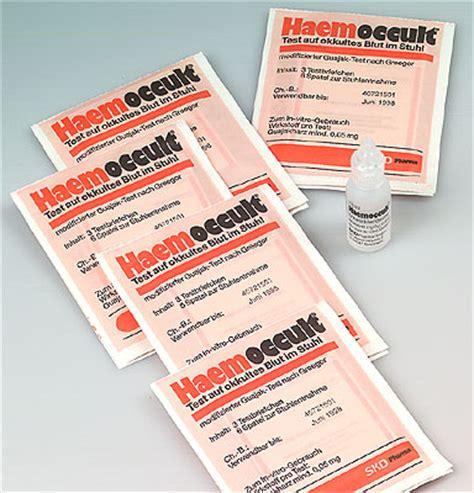 okultes blut im stuhl diagnostik urin blut stuhl medikbedarf