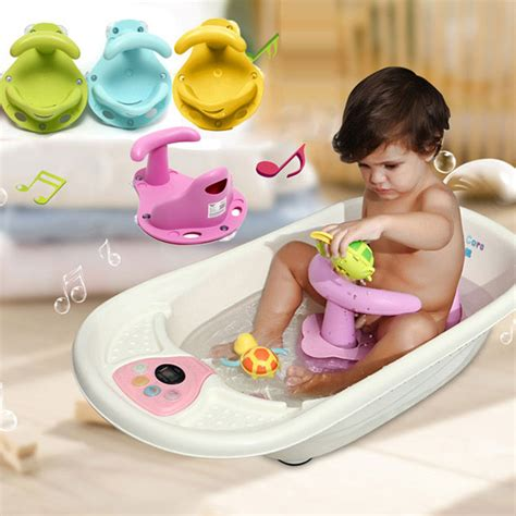 baby bath tub with shower 4 colors baby bath tub ring seat infant children shower