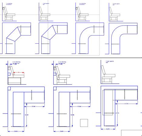 Dimensions For Banquette Seating by Seating Banquette Dimensions Studio Design Gallery