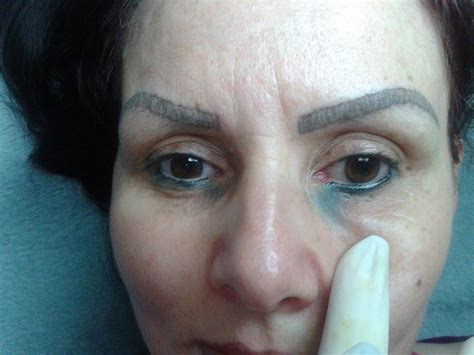 tattoo eyeliner gone wrong semi permanent makeup eyebrows wrong mugeek vidalondon