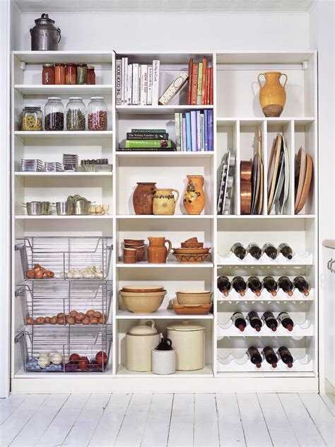 Kitchen Closet Shelving Ideas | pictures of kitchen pantry options and ideas for efficient storage kitchen designs choose