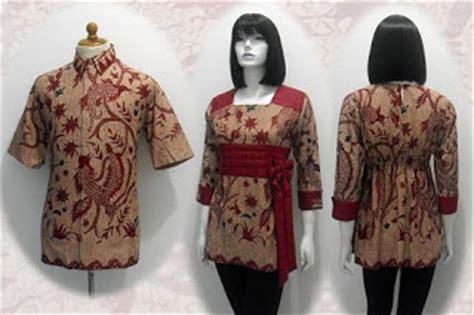 Sarimbit Batik Batik Atasan Batik Cewe 4 model baju seragam batik kantor trendy