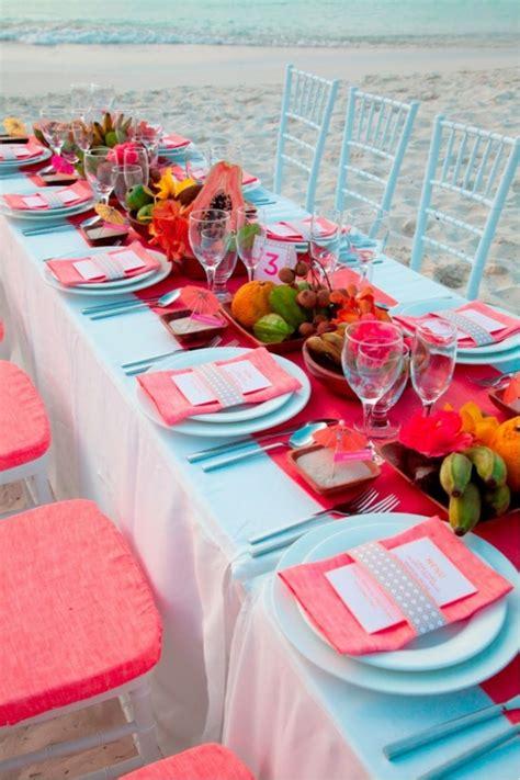 Tischdeko Hochzeit Hellblau by Tischdeko Zur Hochzeit Tolle Farbenfrohe Gestaltungsideen