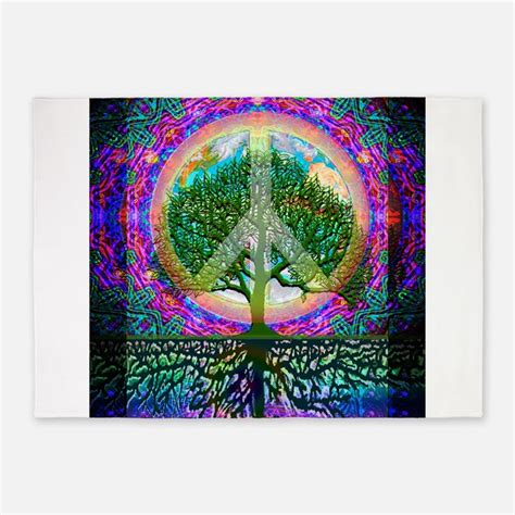 peace trees rug peace symbol rugs peace symbol area rugs indoor outdoor rugs