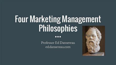marketing management philosophies studiousguy marketing management orientation philosophies