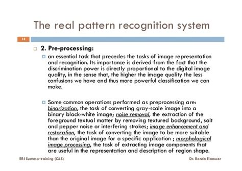 pattern recognition explained what is pattern recognition lecture 4 of 6