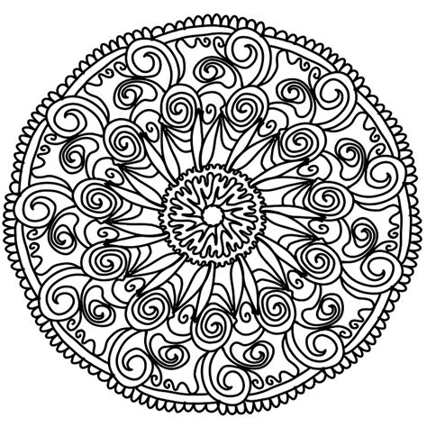 Free illustration: Flowers, Mandala, Hand, Drawing   Free