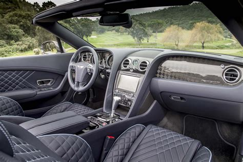 bentley convertible interior 2017 bentley continental supersports first drive review
