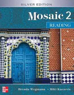 mosaic 2 reading student book silver edition edition 5 by brenda wegmann 9780073258492