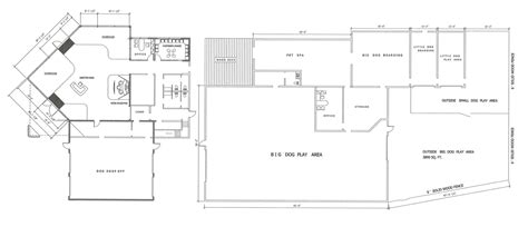 daycare floor plan design floorplans for pet care business home interior design