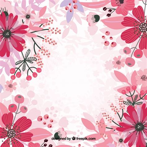 pink wallpaper eps pink floral background vector vector free download