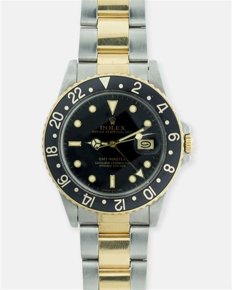 Diskon Rolex Sepasang Gold Cover White rolex gmt master vintage 16753 oyster year 1980 s