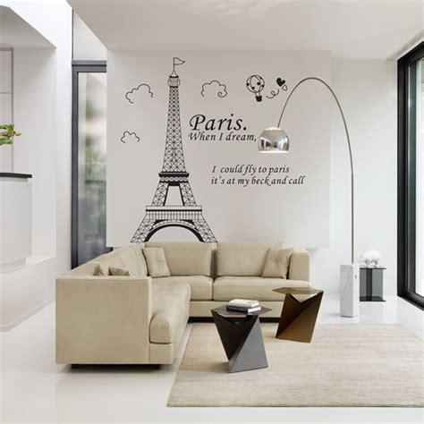 aliexpress wall stickers aliexpress com buy romantic paris eiffel tower beautiful