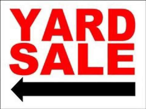 yard sale signs templates youtube