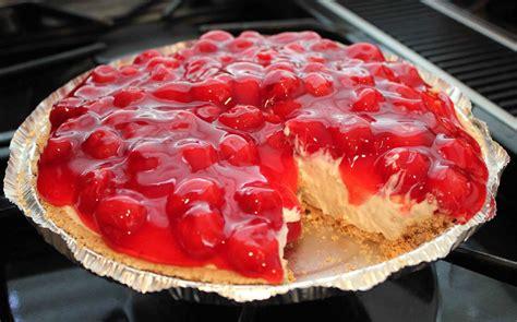 cheese cake cherry light cherry cheesecake recipe dishmaps
