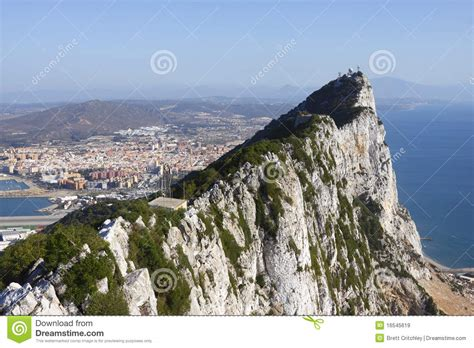 rock of gibraltar l rock of gibraltar royalty free stock images image 16545619
