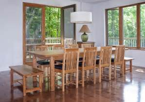 Mission Dining Room Set mission style dining room set table chairs and benches