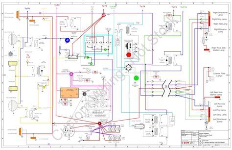 1973 triumph tr6 wiring diagram 1973 get free image