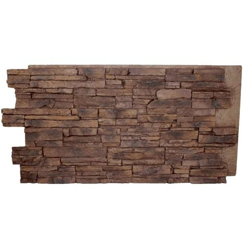 superior stone and reviews urestone stacked stone 35 desert tan 24 in x 48 in