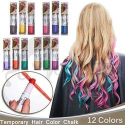 temporary hair color chalk buy joyous professional waxy hair chalk pens hair chalk
