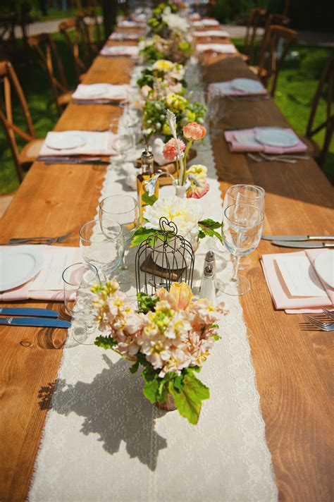 country wedding table decorations rustic wedding decorations 99 wedding ideas