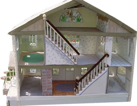 free pattern doll house doll house