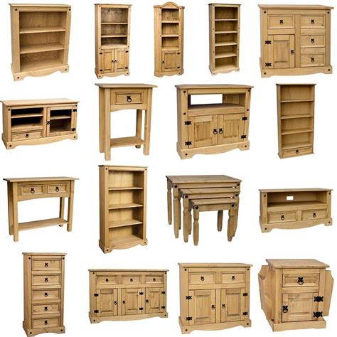 mexican living room furniture corona solid pine mexican living room waxed furniture