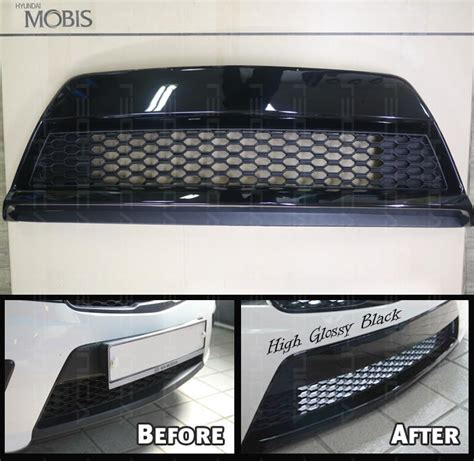 2013 Kia Forte Aftermarket Parts Oem Genuine Parts Front Bumper Grille Glossy Black For Kia