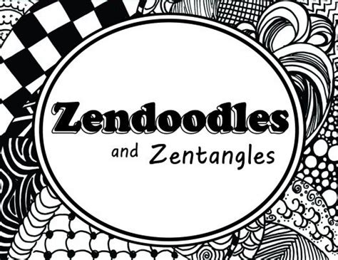 how to start a doodle page how to create a great zendoodle or zentangle pattern
