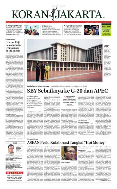 Obama Menerjang Harapan edisi 859 11 november 2010 by pt berita nusantara issuu